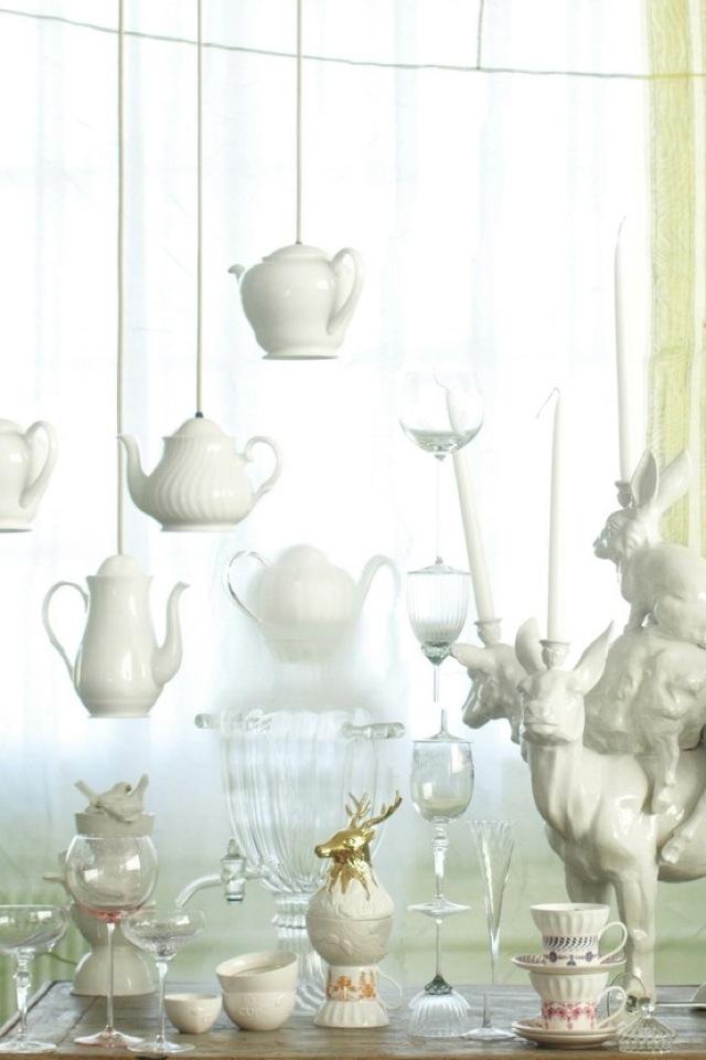 Teapot Pendant Light